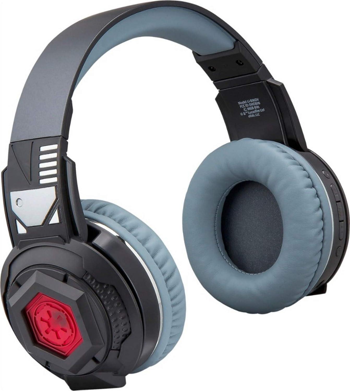 Star Wars Wireless Light-Up Over-The-Ear Headphones - Black - LI-B96DV.FXv7