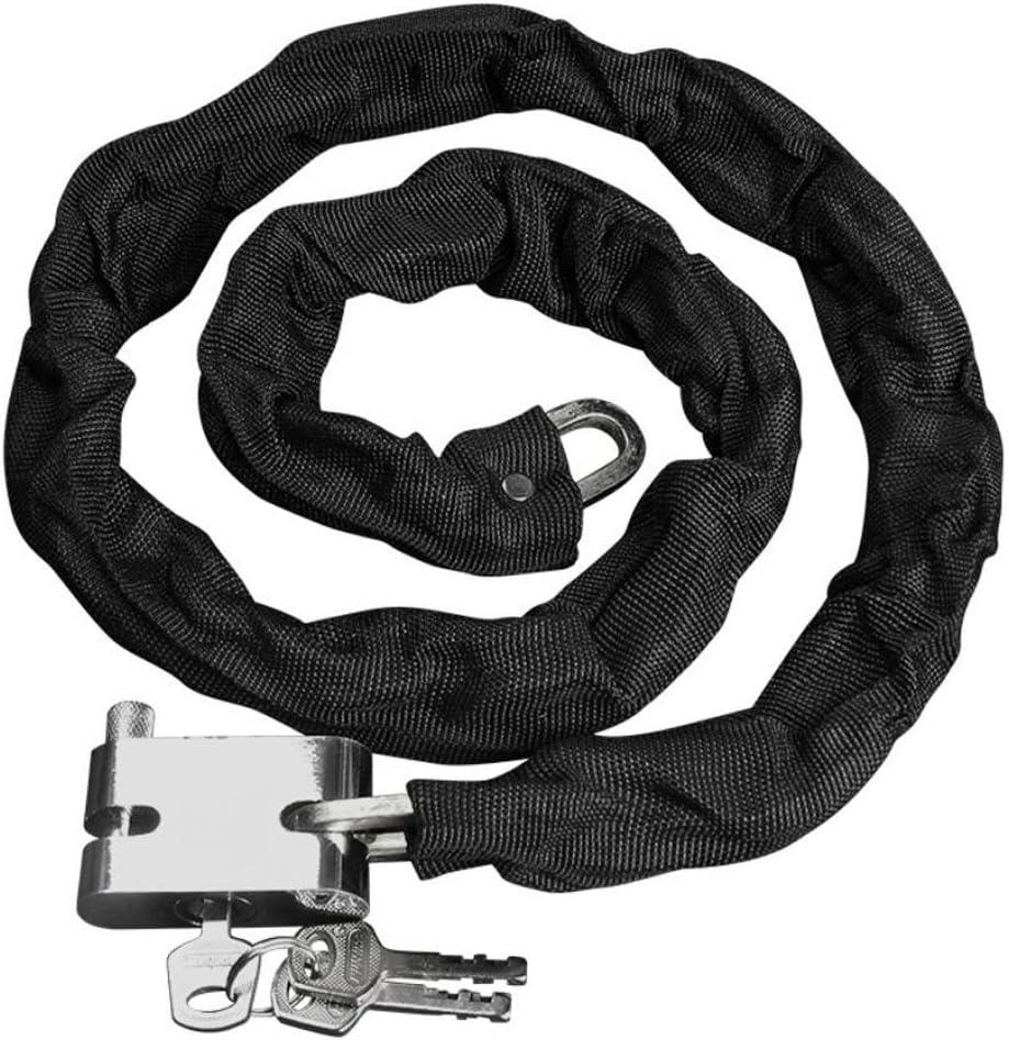 Silverline Heavy Duty Chian Disque Cadenas 70 mm avec 3 clés Antivol de vélo