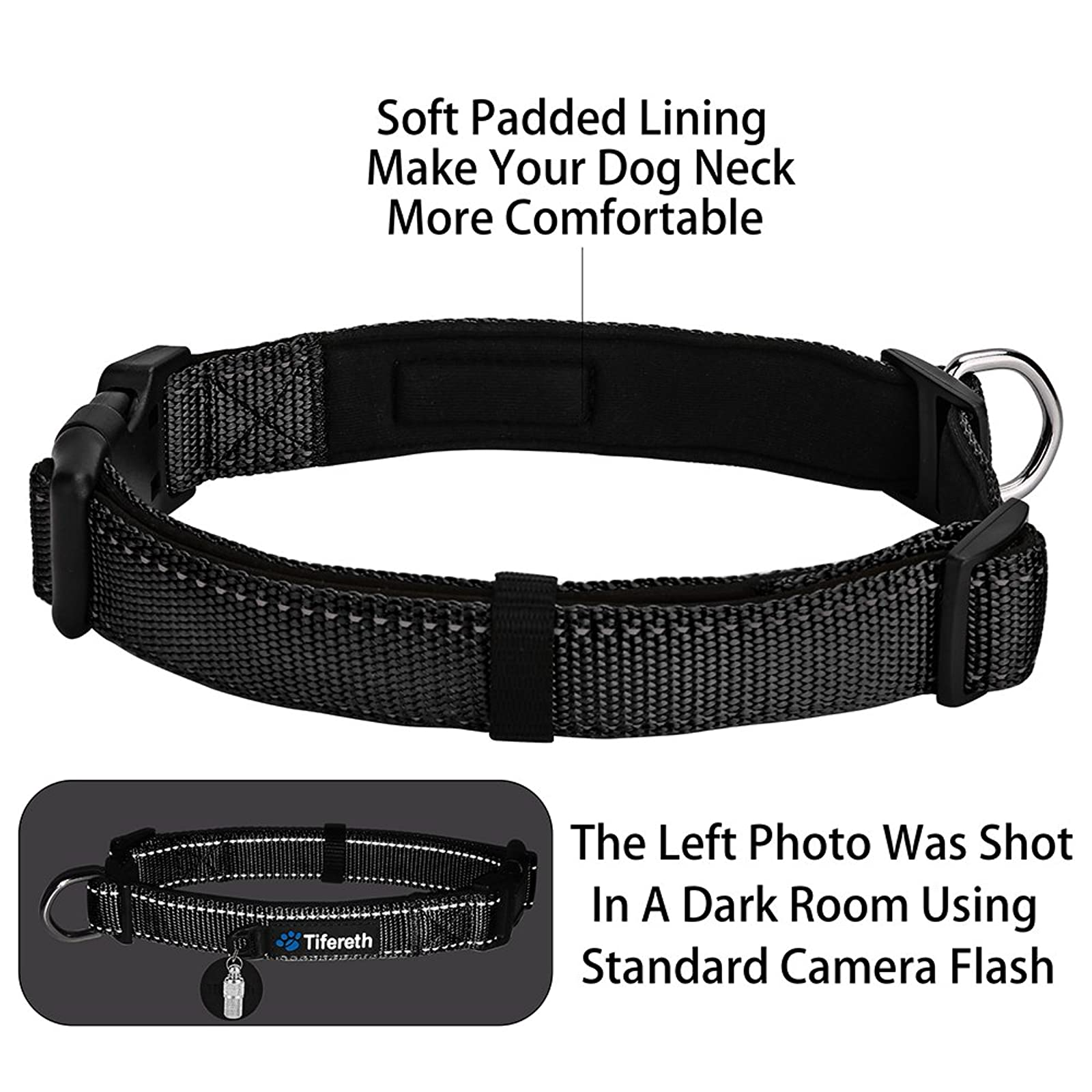 Dog Collars Nylon Buckle Dog Collar Comfortable - 3