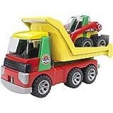Bruder 20070 Roadmax - Transportador con minicargadoras