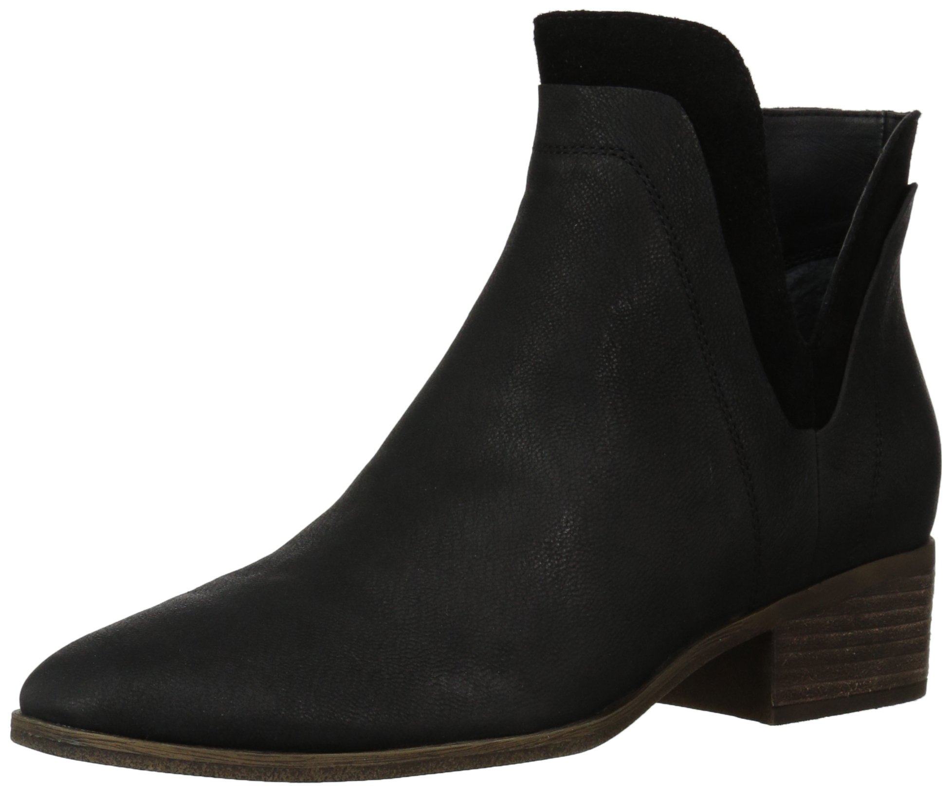 Lucky Women's LK-Lelah Ankle Boot, Black, 7.5 Medium US