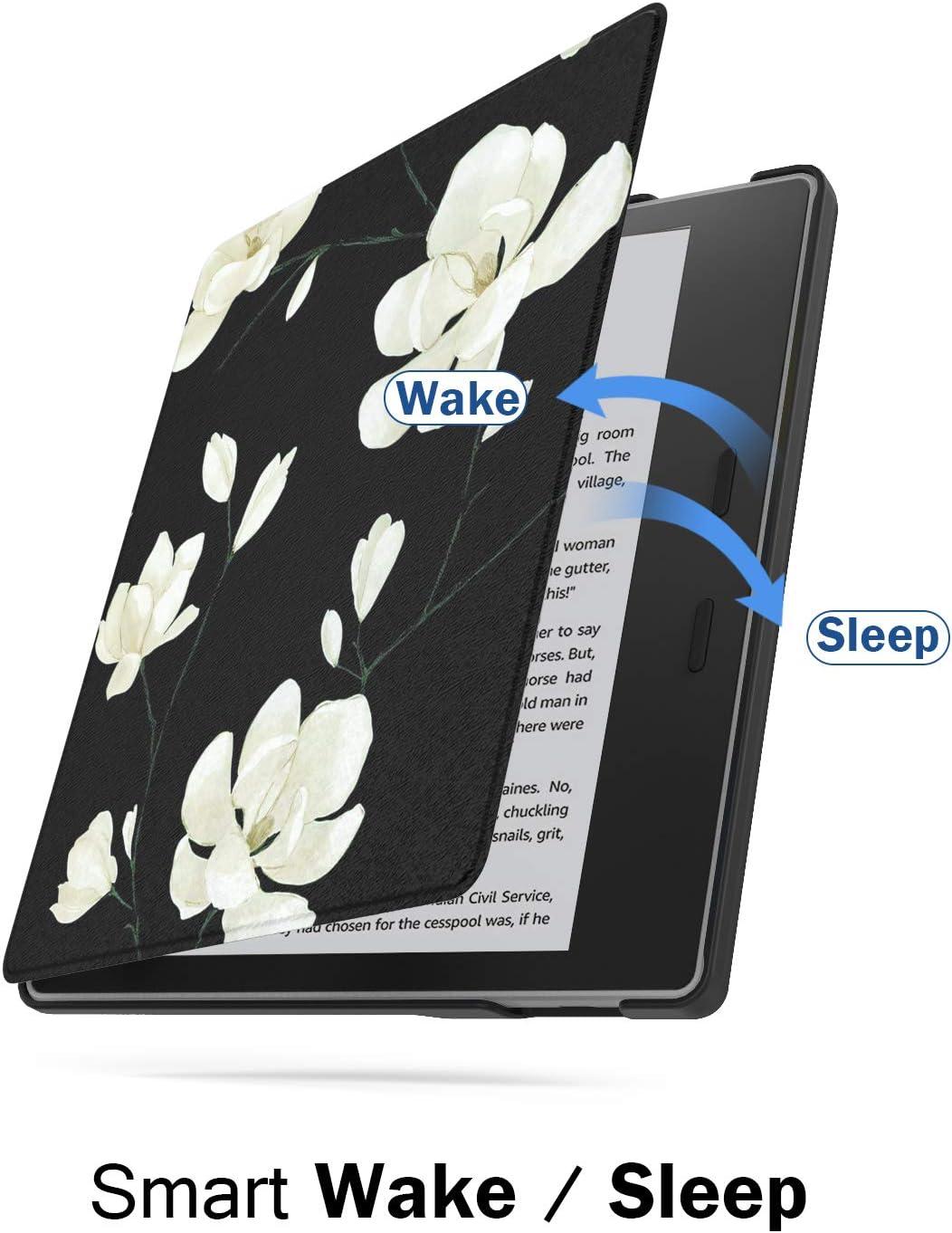 Coque Premium Ultra L/ég/ère Avec Fonction Auto R/éveil//Sommeil 9/ème g/én/ération, /édition 2017 Drapeau Allemand MoKo Etui pour  Kindle Oasis E-Reader