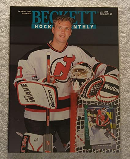 Martin Brodeur - New Jersey Devils - Beckett Hockey Card Monthly Magazine -   48 - 1cb8d74ed