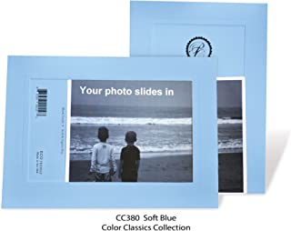 """product image for Photo Note Cards for 4"""" x 6"""" image 10 Pack with Envelopes ColorClassics (Soft Blue)"""