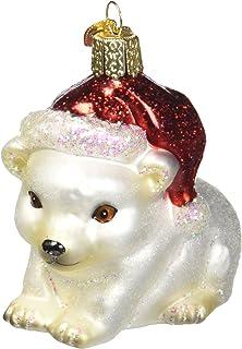 Old World Christmas Raccoon Glass Ornament 12146 Animal Decoration New FREE BOX