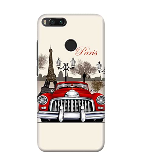 Be Awara Paris Printed Back Case Cover for Xiaomi MI A1