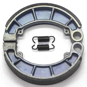 FidgetGear Rear Brake Shoes Pads for Honda Brakes Fourtrax TRX 300 4x4 TRX300 FW 1988-2000