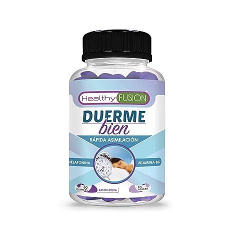 DUERME BIEN – Melatonina Pura 100% Asimilada de Absorción Sublingual + Vitamina B6 | Para un Descanso Profundo y Reparador | Dormirás Como Nunca Antes ...