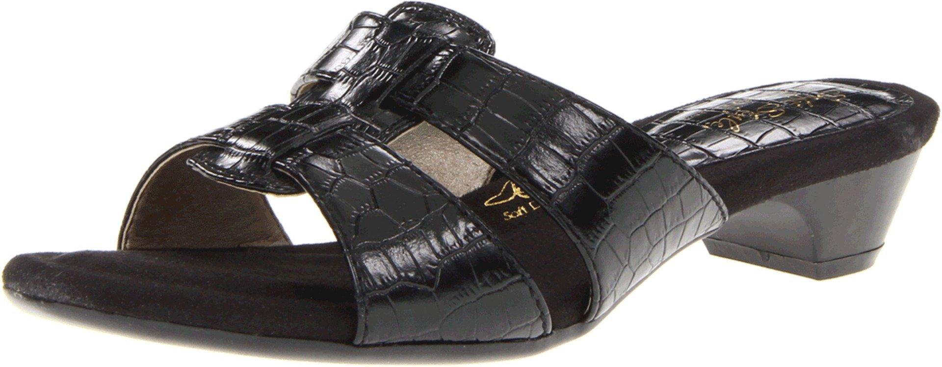 Soft Style Women's Ellary Snadal,Black,10 M US