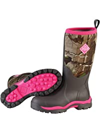Muck Boots Company Women's WOODY PK MESH LINING HUNTING BOOT, REALTREE PINK CAMO