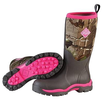 Marron Femme Bark Max Woody de amp; Women's Boots Bottes Pluie Muck Bottines q6v4Hvw