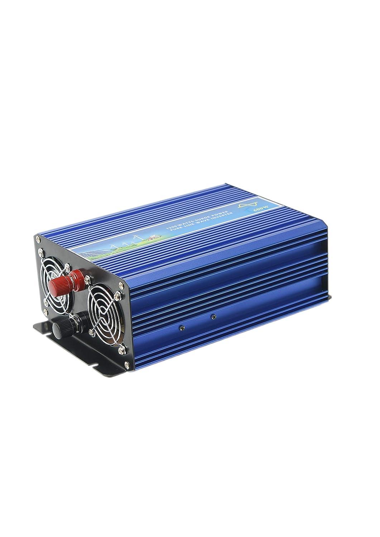 600W DC12-220V入力 AC100V出力 インバータ 50/60Hz切替可能 オフグリッド インバータ 純正弦波 UPS機能付き 小型ソーラー/風力システムに適用 (72VDC) 72VDC  B07QZVH7LR