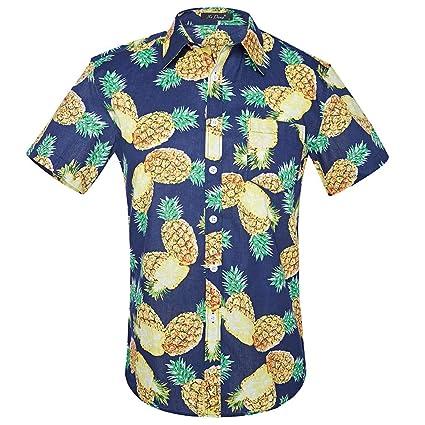 Camisa Hawaiana para Hombre 9f6e4878cd5
