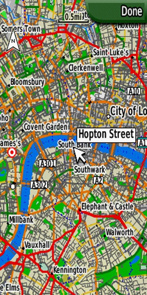 For Garmin Edge 800 Full Great Britain UK Ireland Topo Map Monterra.only by mapmanGPS Edge 810