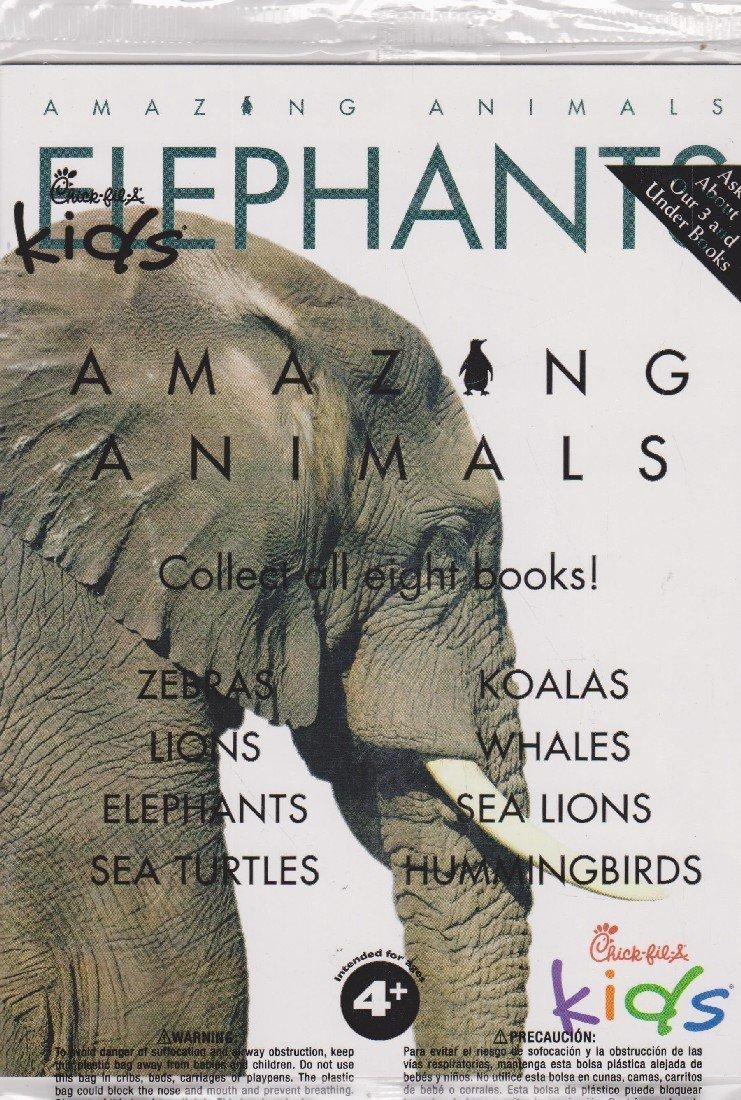Chick-fil-A Amazing Animals: Elephants: Amazon.com: Books