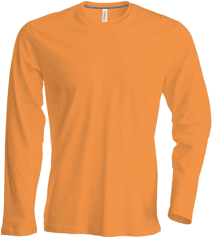 2XL L M Herren T-Shirt Langarm Rundhals Shirt in 20 Farben und Den Größen S 4 XL von noTrash2003 Leicht Körperbetont Leicht Körperbetont XL 3XL u