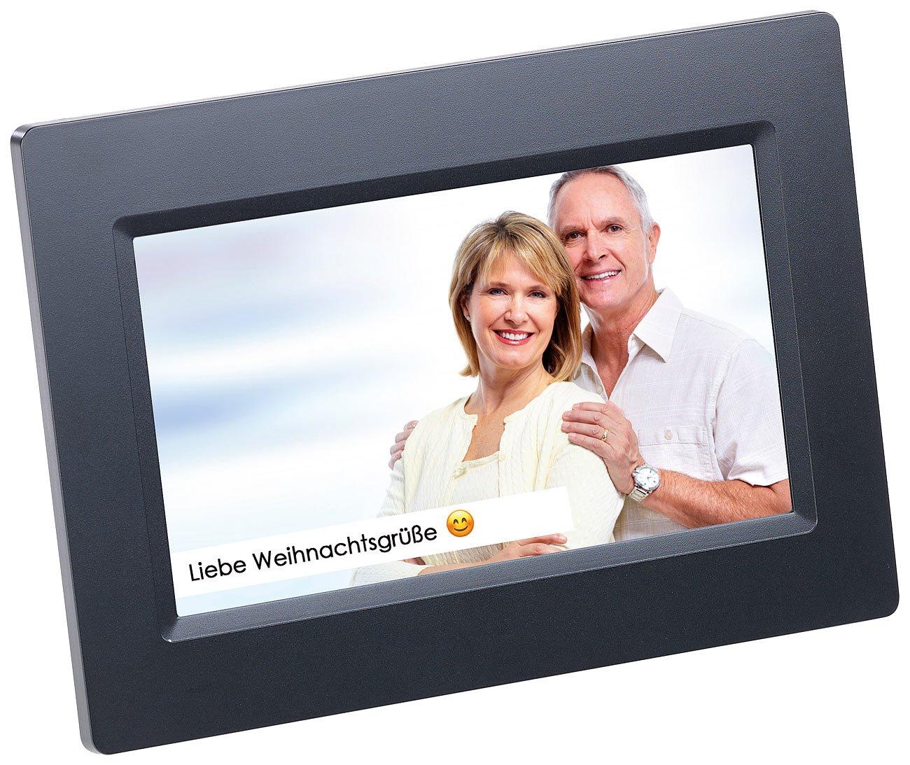 Amazon.de: Somikon Digitale Bilderrahmen: WLAN-Bilderrahmen mit 17 ...