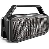 Bluetooth Speaker, W-KING 60W Punchy Bass, Loudest Portable Wireless Speaker, IPX6 Waterproof, Bluetooth 5.0, 40H Playtime, 1