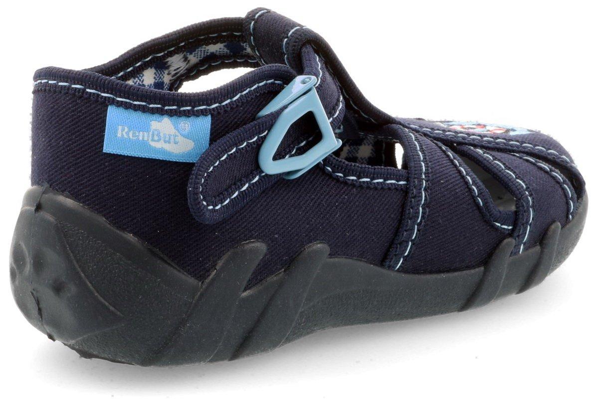 Blue Sticks, 4UK // 21EU - 13cm Boys Canvas Shoes Slippers Sandals Baby Kids Toddler