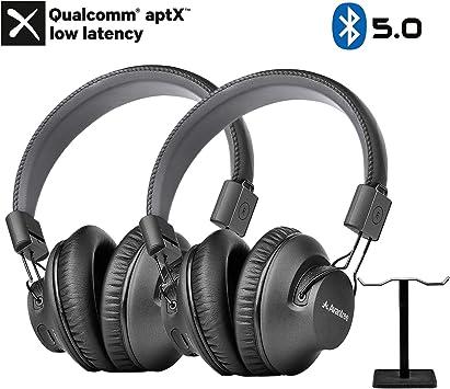 double casque audio bluetooth