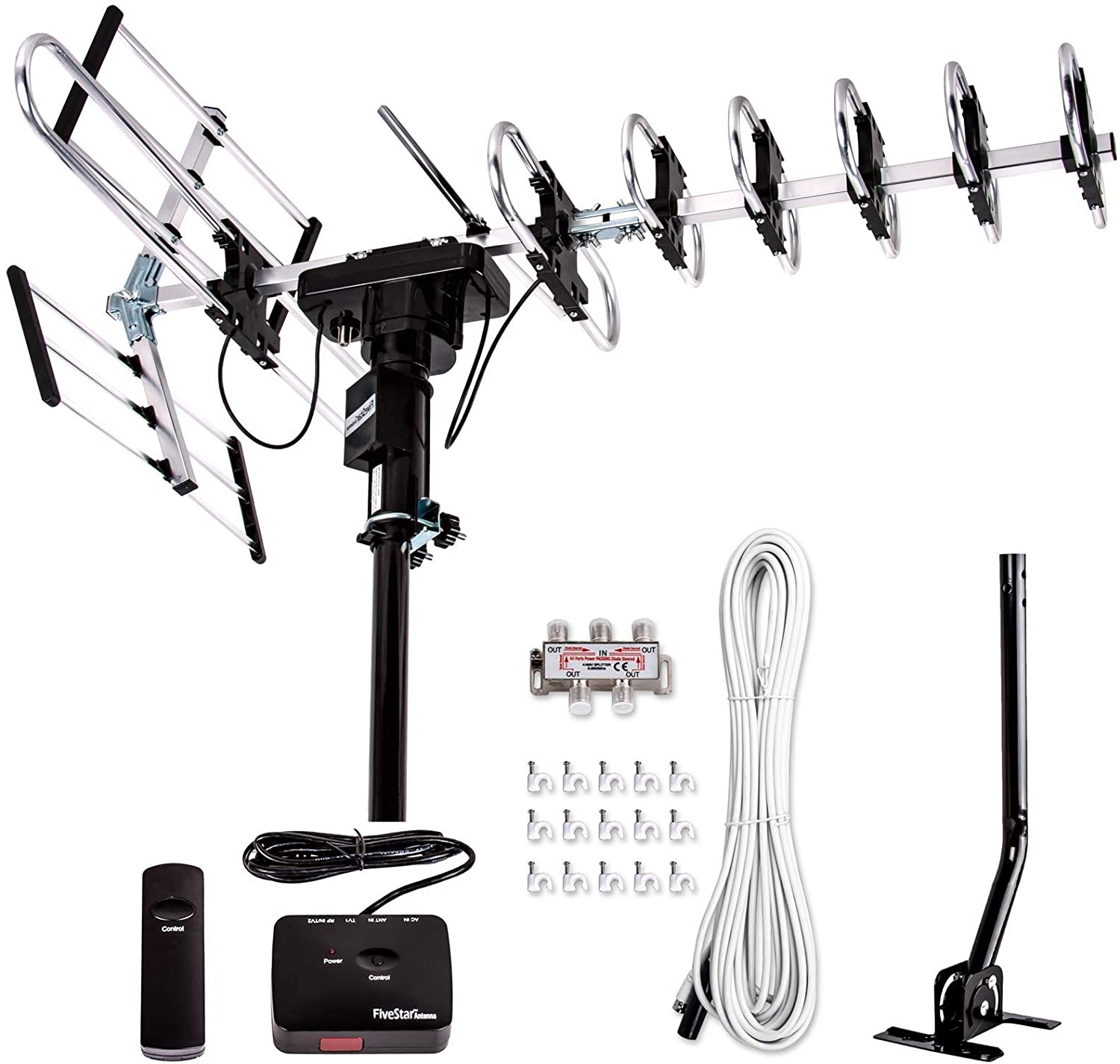 Best long range HDTV Antenna with FM Receiver