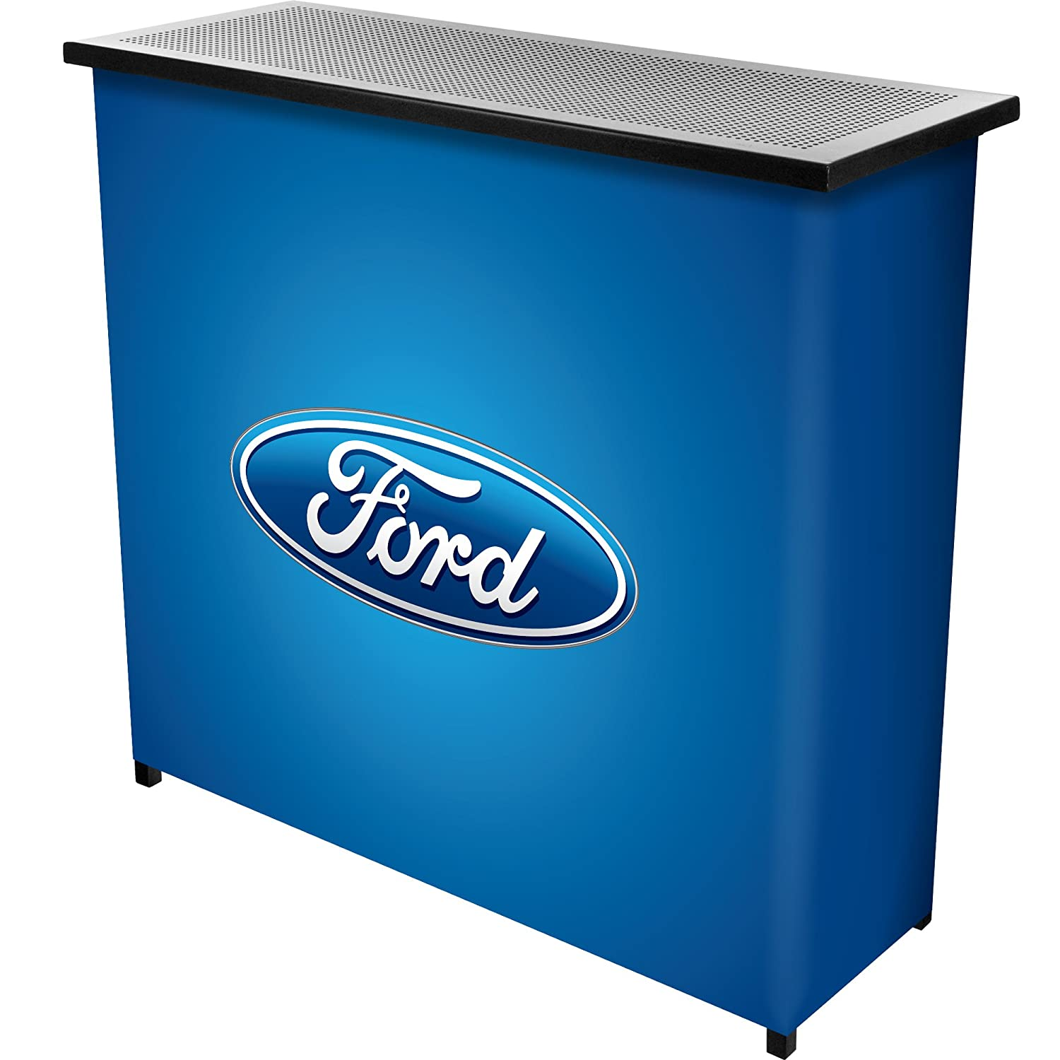 Trademark Gameroom Ford-Portable Bar with Case-Ford-Oval