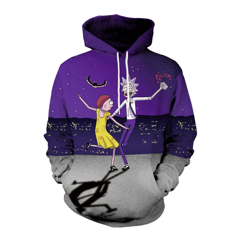 Mrsrui Men's Patterns Print 3D Sweaters Fashion Hoodies Sweatshirts Pullover by Mrsrui