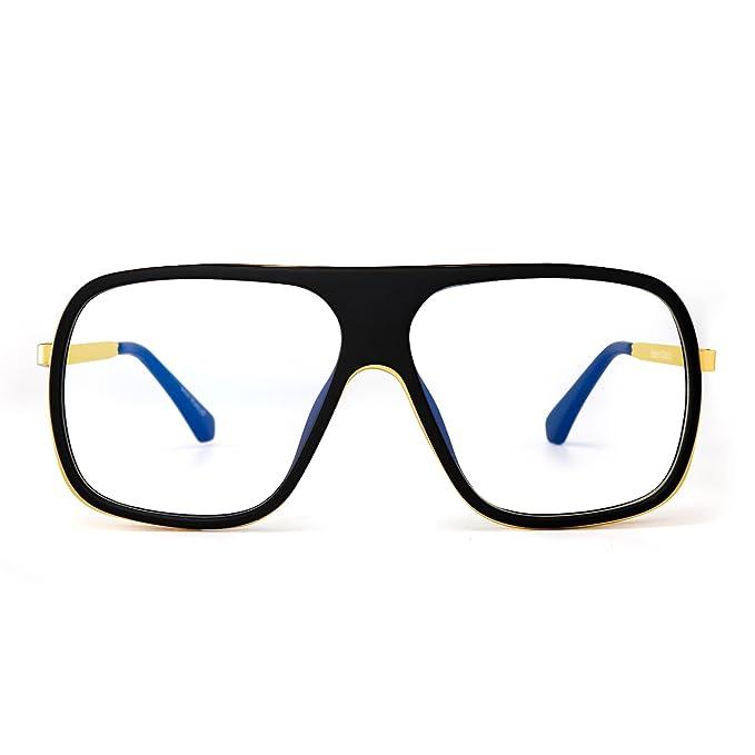 Gold Mirror Mirrored Retro Designer Sunglasses Mens Ladies Unisex