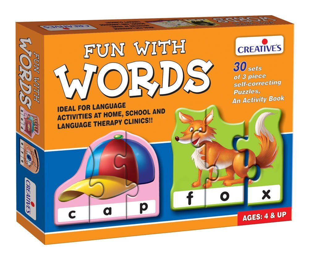 Creative's Fun With Words Puzzle (Multi-Color, 90 Pieces) product image