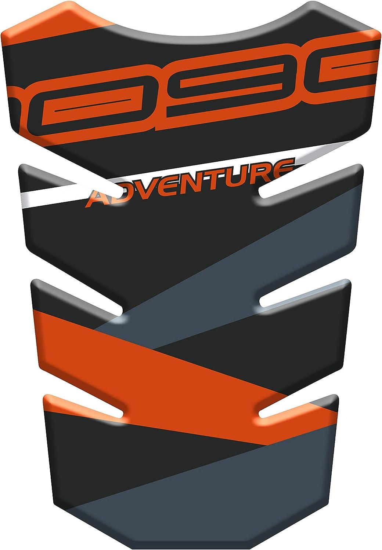 PARASERBATOIO ADESIVO RESINATO EFFETTO 3D compatibile con K.T.M Adventure 1190 v2