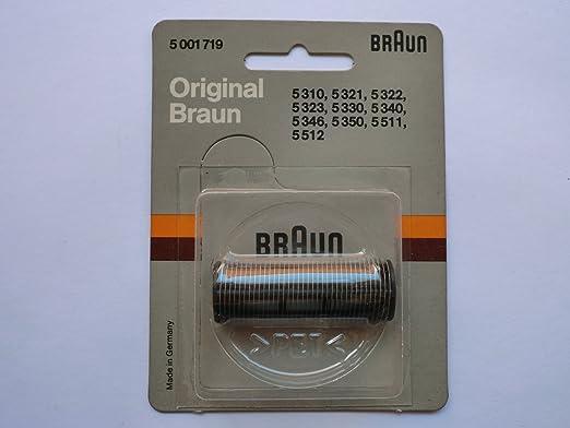 Braun 5001719 sixtant 330/346 – Recambios para Cuchillas de ...