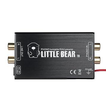 Amazon.com: nobsound Little Bear T9 Mini Phono etapa ...