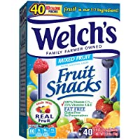 Deals on 40-Count Welchs Fruit Snacks, Mixed Fruit 0.9oz