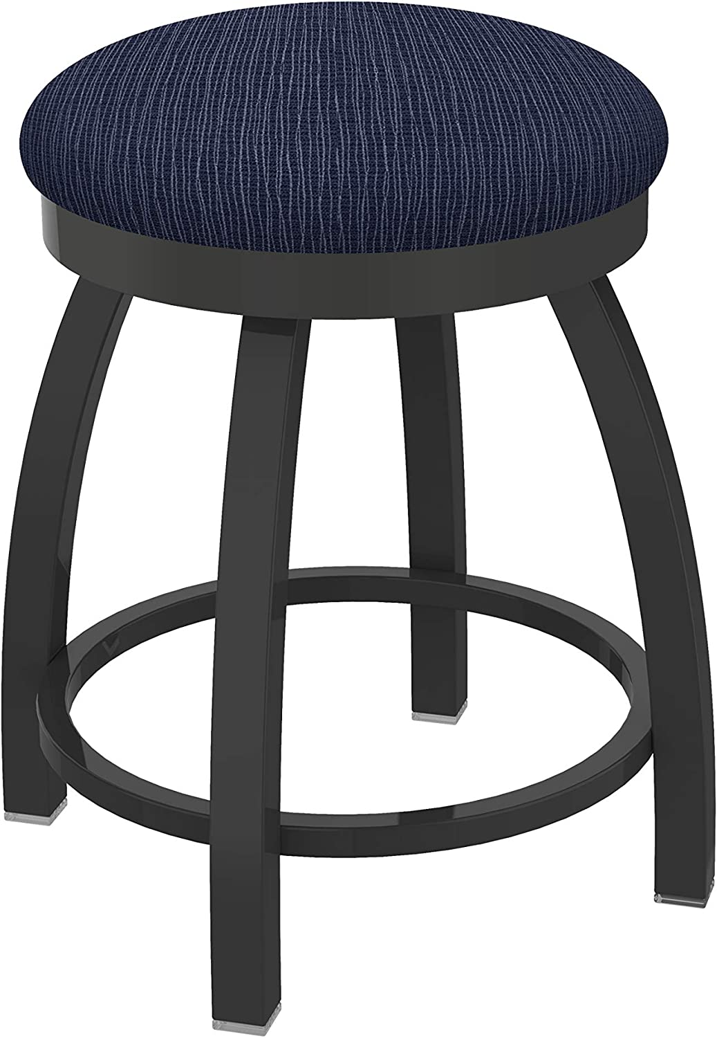 Holland Bar Stool Co. Misha Swivel Vanity Stool, 18 Seat Height, Graph Anchor
