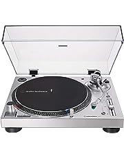 Audio-Technica AT-LP120XUSB-SV Direct-Drive Analog & USB Turntable (Silver)