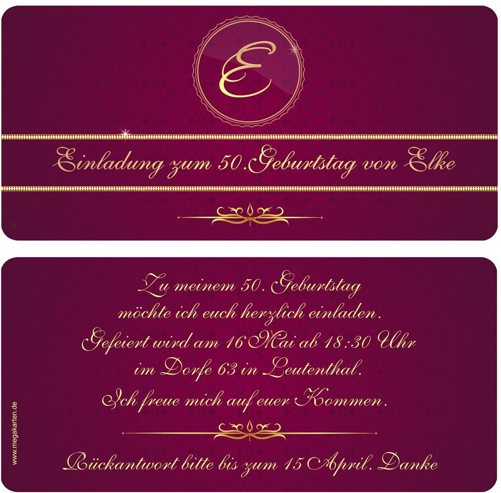 Einladungskarten zum Geburtstag Geburtstag Geburtstag als Party Ticket 100 Stück B00WQ0FKYS   Online-verkauf  bc86c7