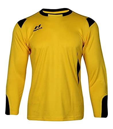 e2980f90f45 Buy NIVIA SPIDER FOOTBALL GOALKEEPER JERSEY SET SIZE-LARGE Online at Low  Prices in India - Amazon.in