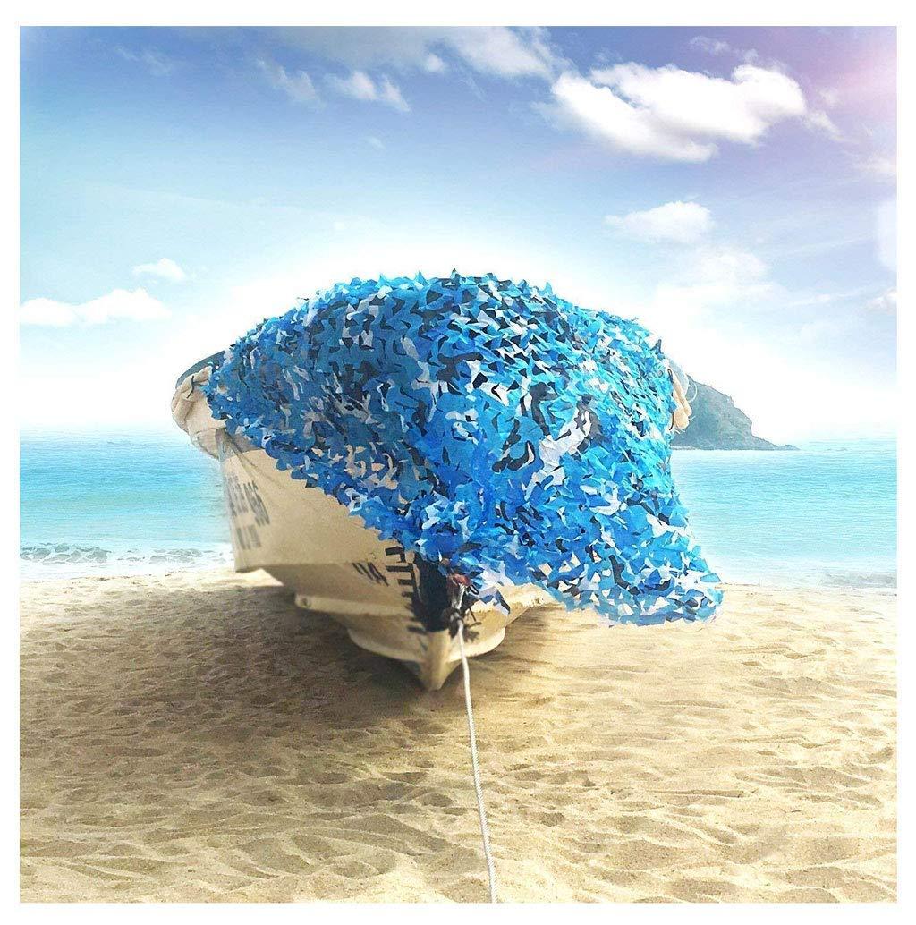 66M(19.719.7ft) ATR Filet Camo - Stores en Filet de Filet de Camouflage - pour Chasse Tir Parasol Camping Décoration de la Maison et Sports de Plein air, Ocean Marine bleu Camo