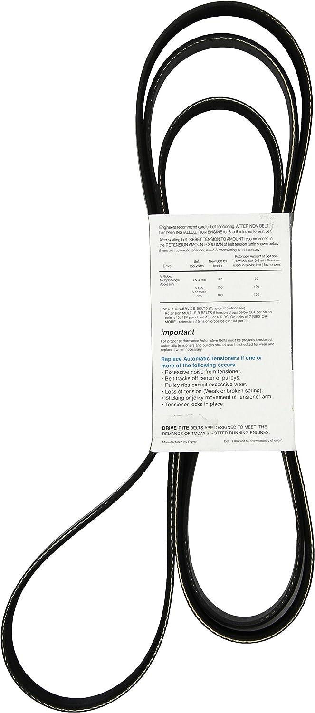 Dayco 5070973DR Serpentine Belt