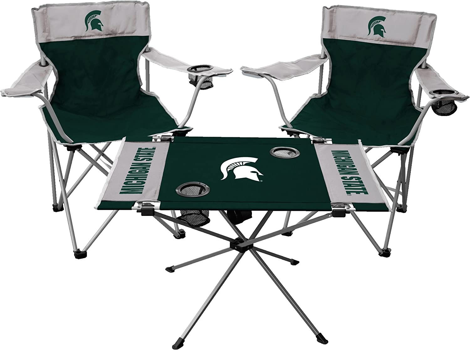 Team Color Jarden Sports Licensing NCAA Michigan State Spartans Tailgate Kit One Size