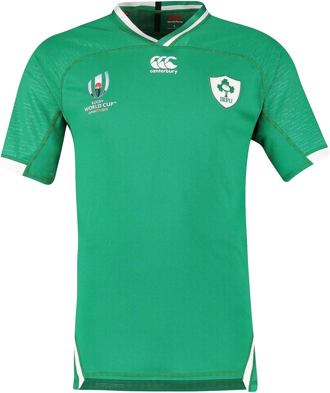 canterbury(カンタベリー) ラグビーアイルランド代表 ホームジャージー ラグビーワールド杯 2019 Rugby Ireland National Team Home Jersey RWC 2019 [並行輸入品]  インポートL