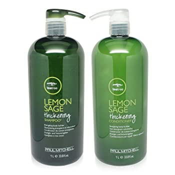 Paul Mitchell Tea Tree Lemon Sage Thickening Shampoo and Conditioner Set