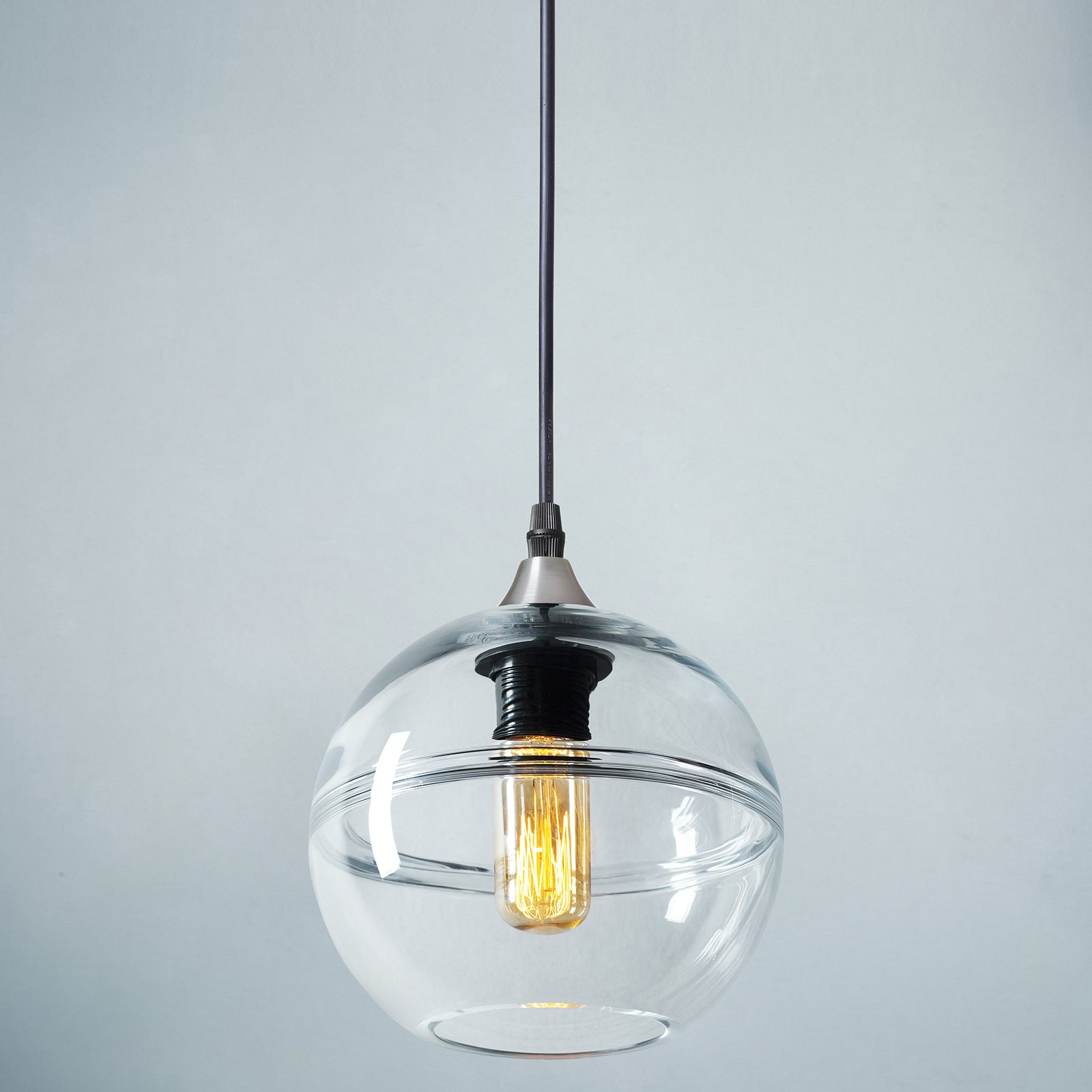 Casamotion Pendant Lighting Handblown Glass Drop Hanging