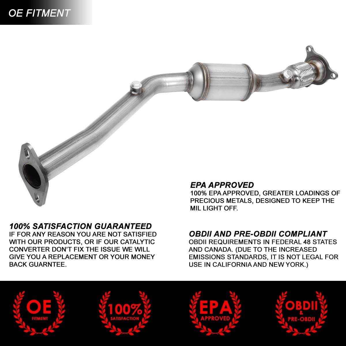 Catalytic Converters OE Style Exhaust Center Catalytic Converter ...