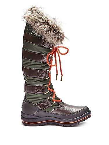 Hadly Women US 6 Green Winter Boot