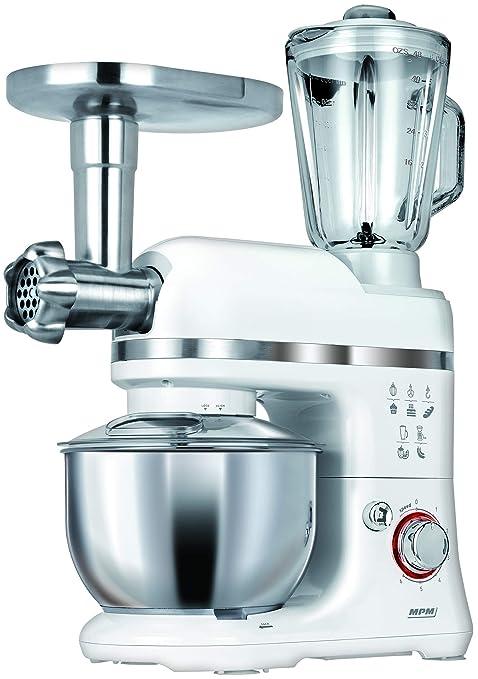 MPM MRK-15 Procesador de Alimentos 1400 W, 4 litros, Blanco