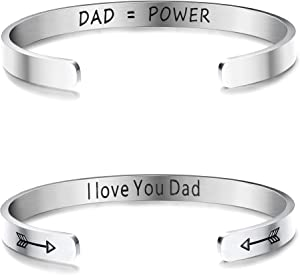 Sweepstakes: LOYALLOOK 2PCS Stainless Steel Inspirational...