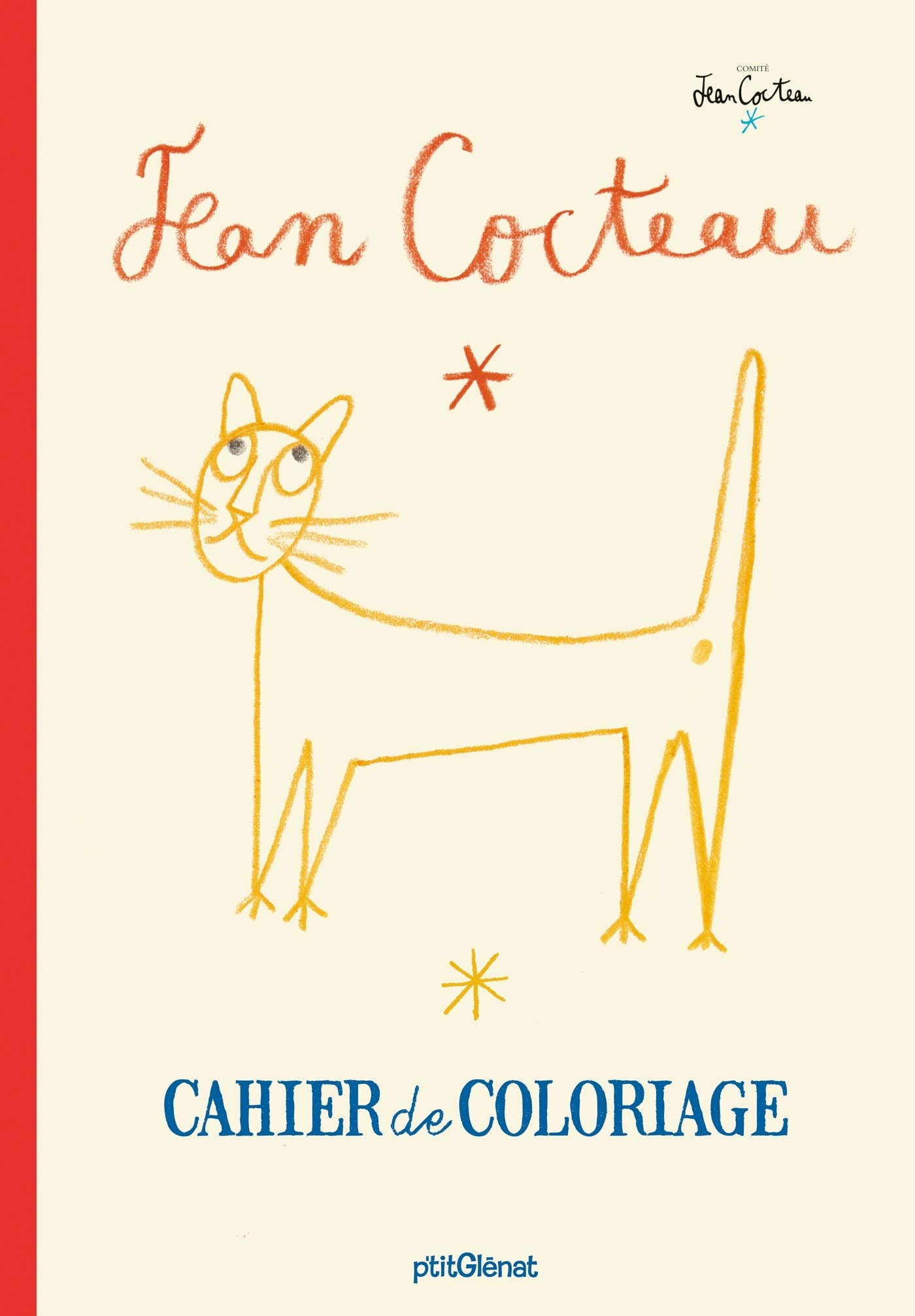 Cahier de coloriage Jean Cocteau Coloriages et activités ...