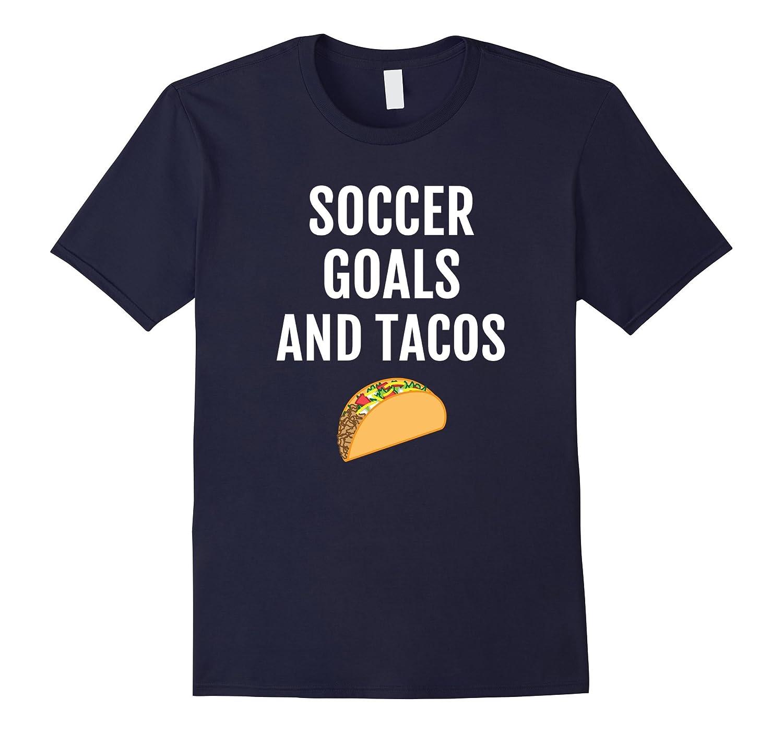Funny Soccer Tacos T-Shirt - Mexican Taco Tee Shirt Saying-Vaci
