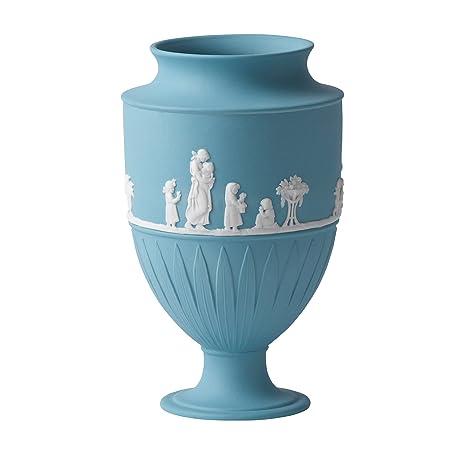 Amazon Wedgwood Jasper Classic 735 Inch Large Vase White On